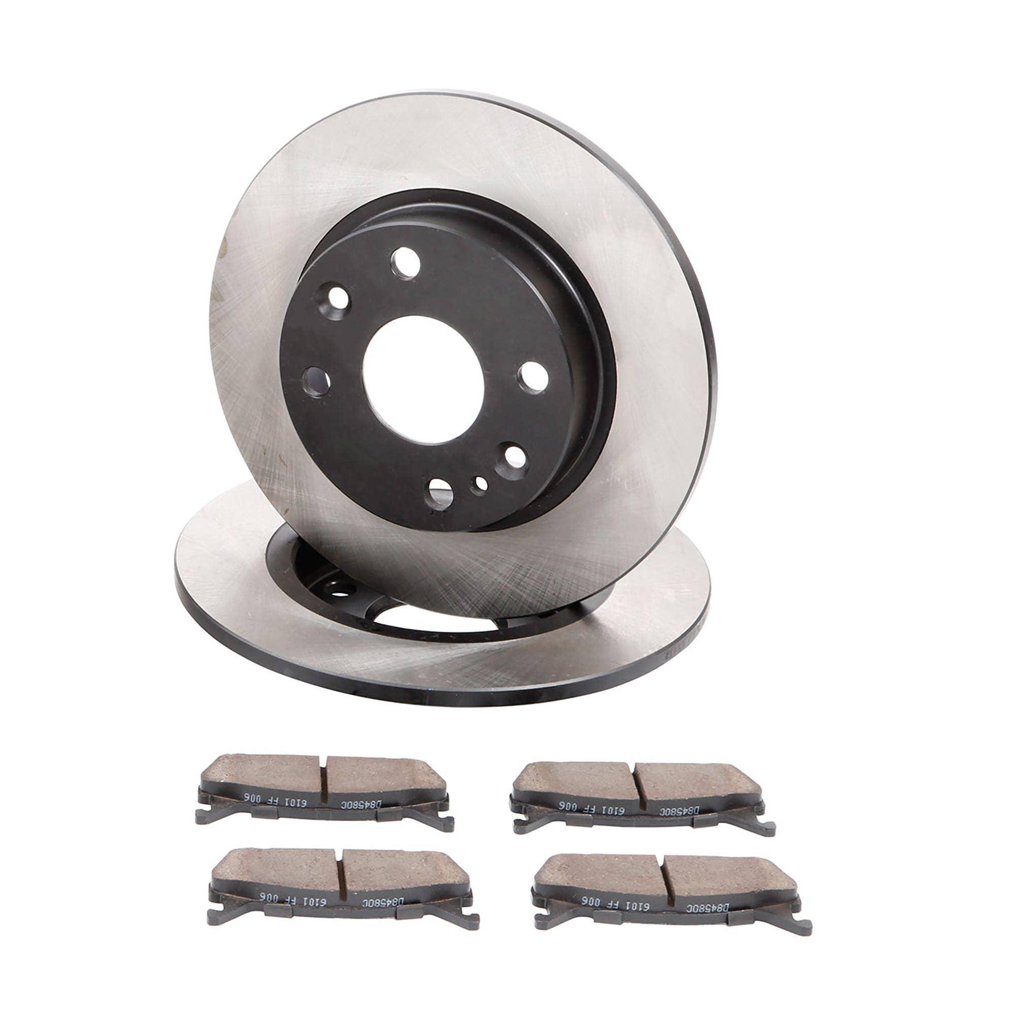 Front + Rear 1994-2005 Miata MX5 Rotors w//Metallic Pad OE Brakes
