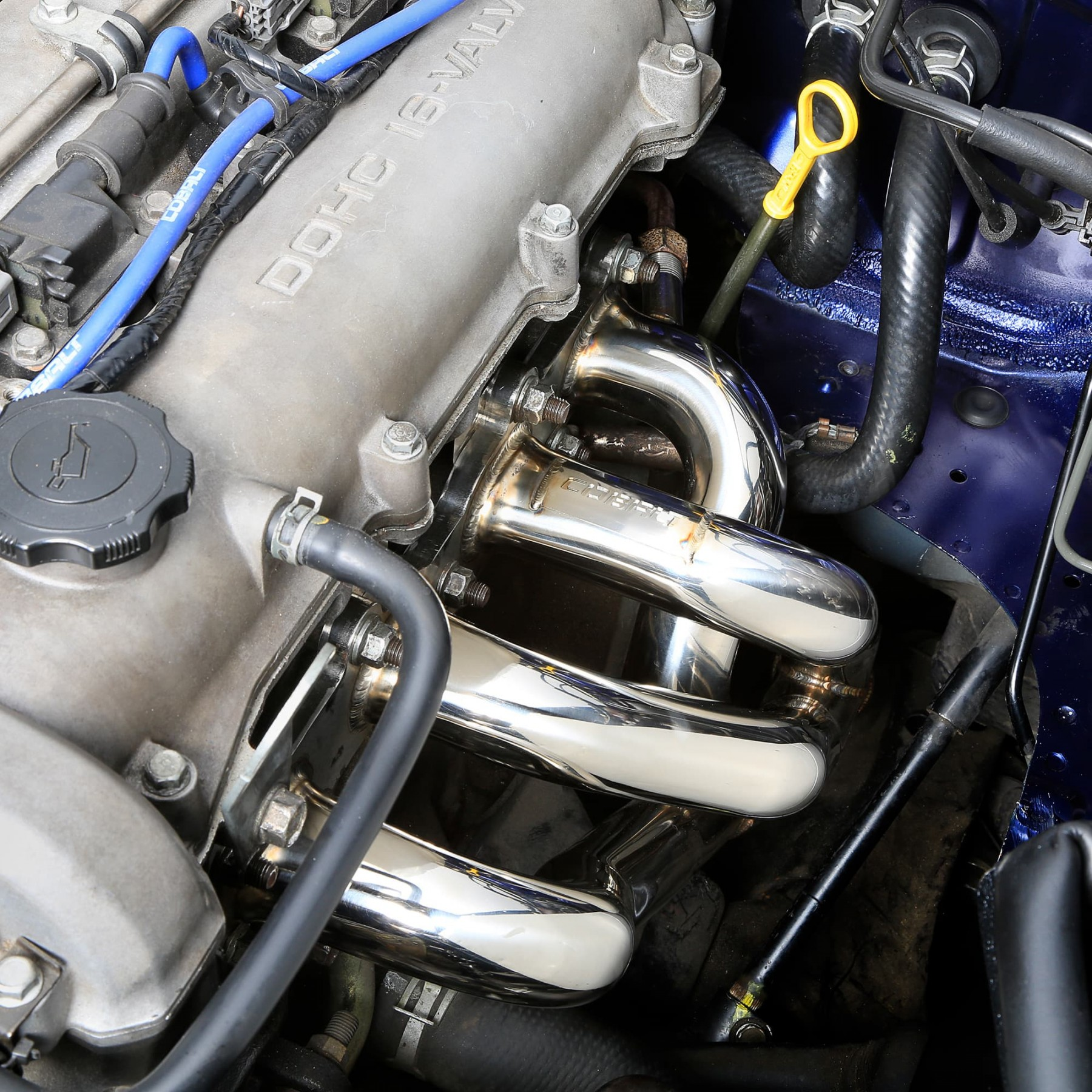 910 645 Performance Stainless Steel Header By Cobalt Mossmiata 99 Miata Fuel Filter Location On View Larger