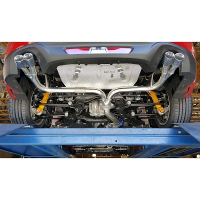 Quad Tip Sport Exhaust By Roadstersport