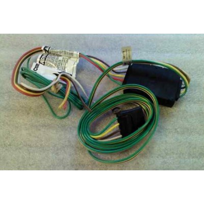 910-708 4-Pin Trailer Wiring Harness | MossMiata on trailer generator, trailer plugs, trailer fuses, trailer brakes, trailer hitch harness, trailer mounting brackets,