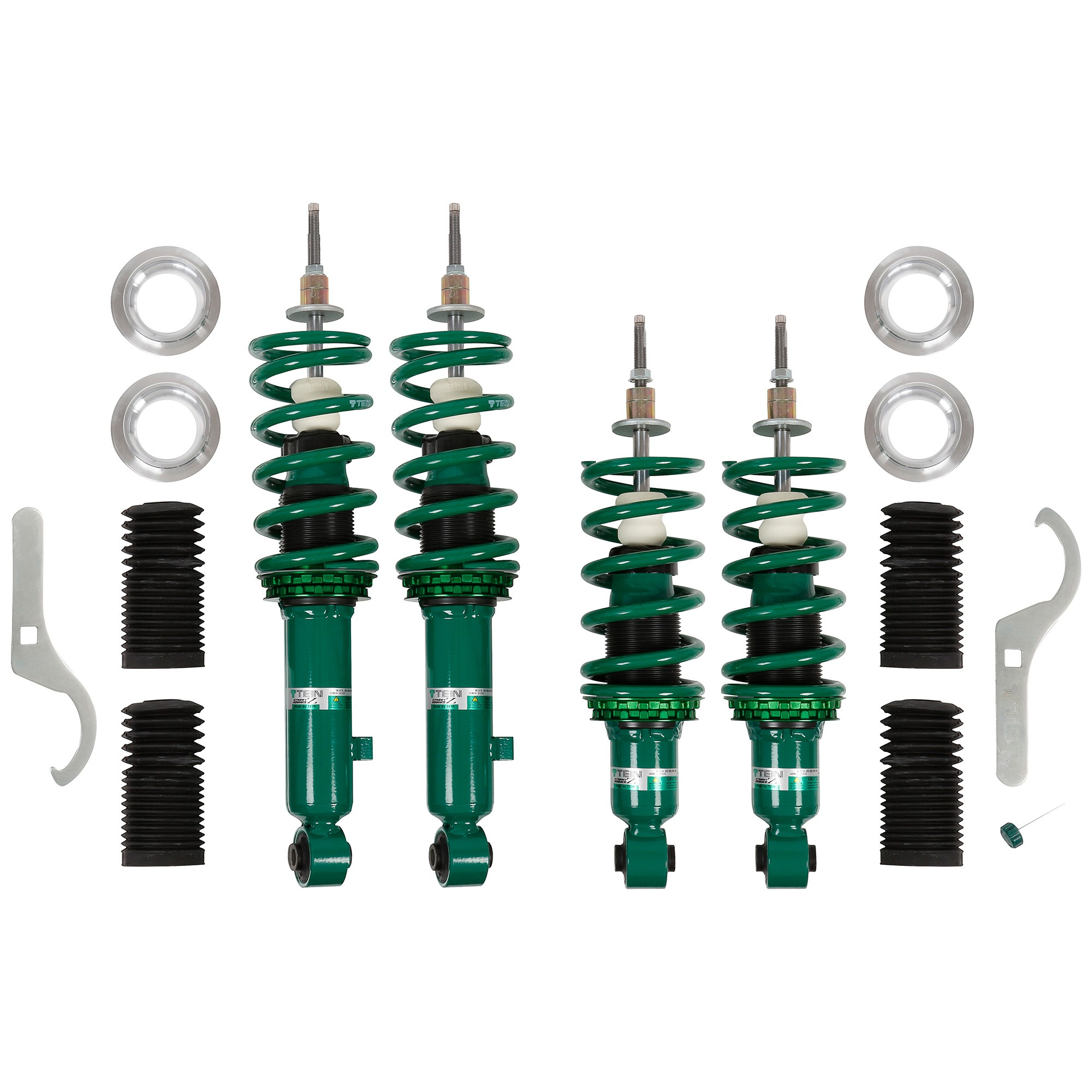 1997 Mazda Protege Suspension: 909-906 Street Advance-Z Coilover Kit By Tein