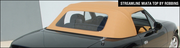 Streamline Mazda Miata Convertible Top By Robbins Tops Are Made To The Exact Pattern 2006 Mx 5 This Design Eliminates Deck Seams